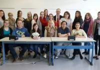 Falschgeldschulung der Deutschen Bundesbank für angehende Kaufleute für Bürokommunikation und Verkäufer