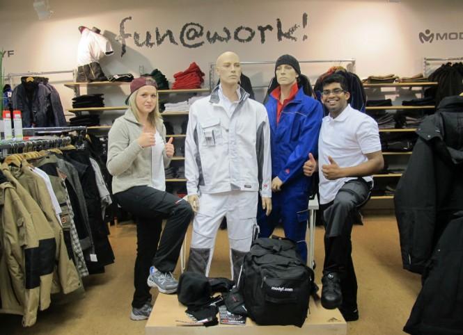 premium selection f09ce 4e286 Übungsfirma WORK 'n' OUT GmbH besucht Patenunternehmen Würth ...
